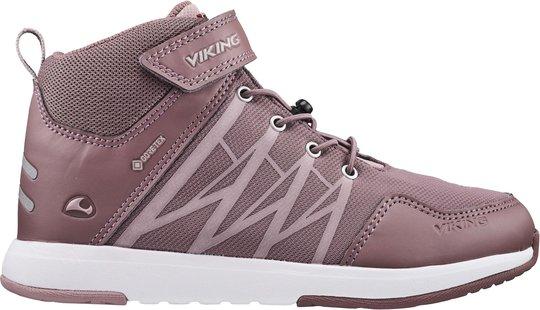 Viking Oppsal Mid GTX R Sneaker, Antiquerose/Dusty Pink, 30