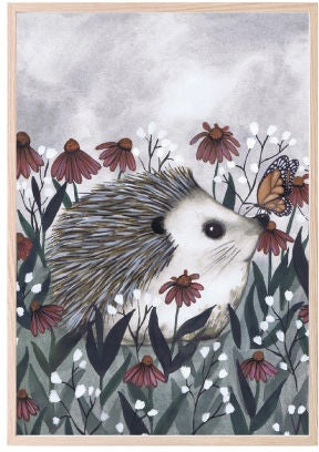 That's Mine Juliste Nosy Hedgehog 30x40