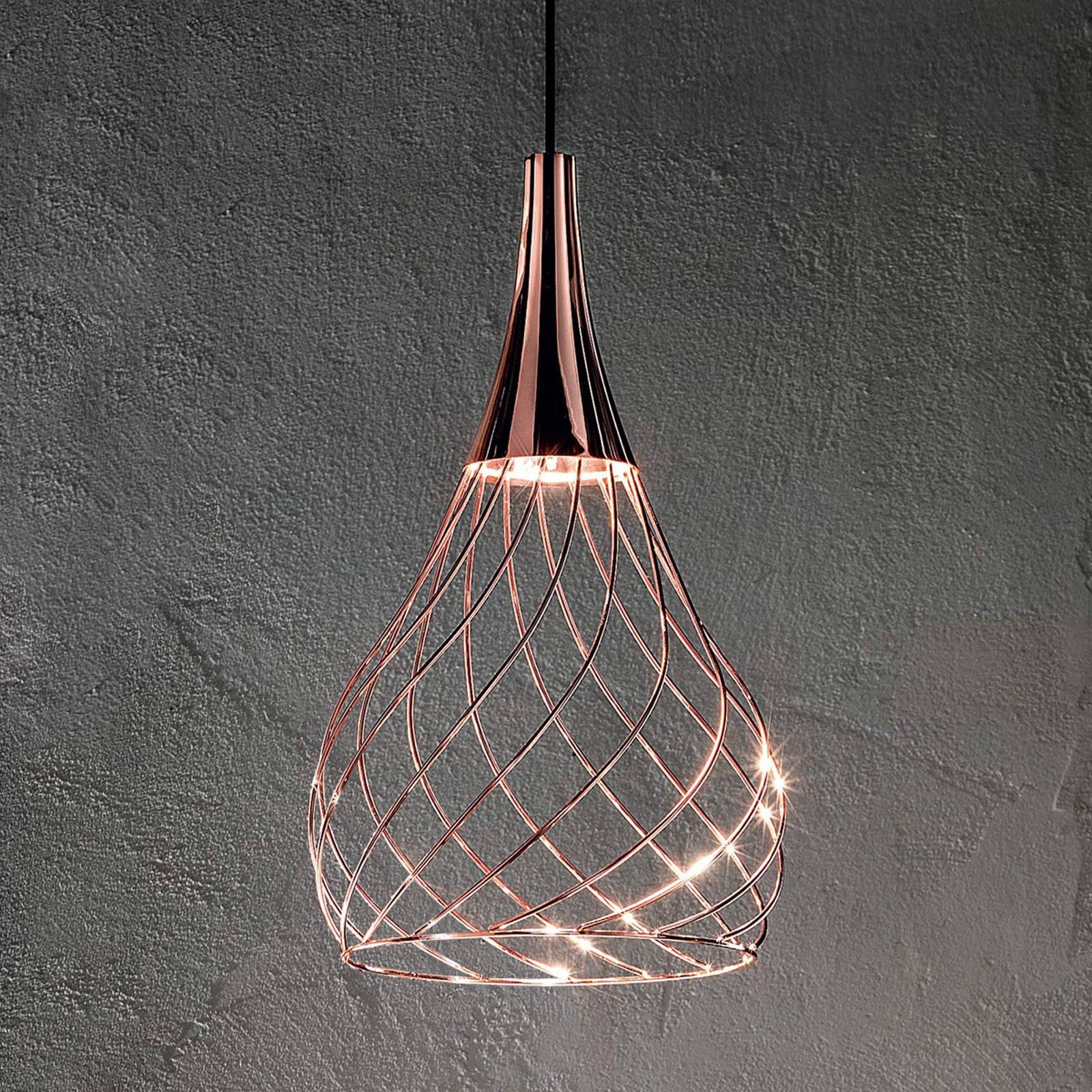 Toiminnallinen LED-riippuvalaisin Mongolfier_P1