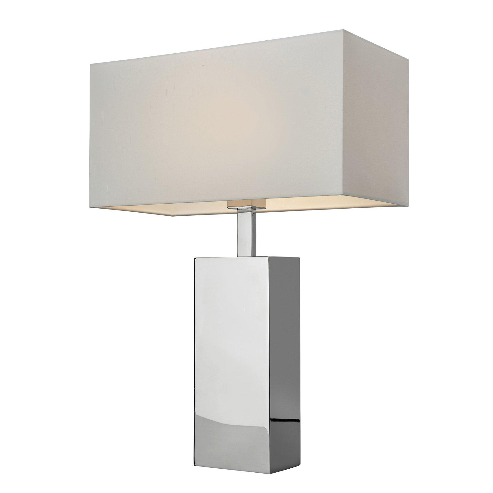 Bordlampe Block, høyde 56 cm