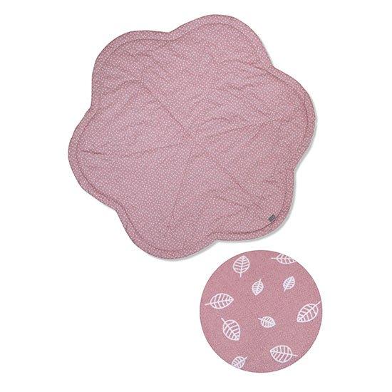 Vinter & Bloom - Nordic Leaf Play Mat - Soft Pink