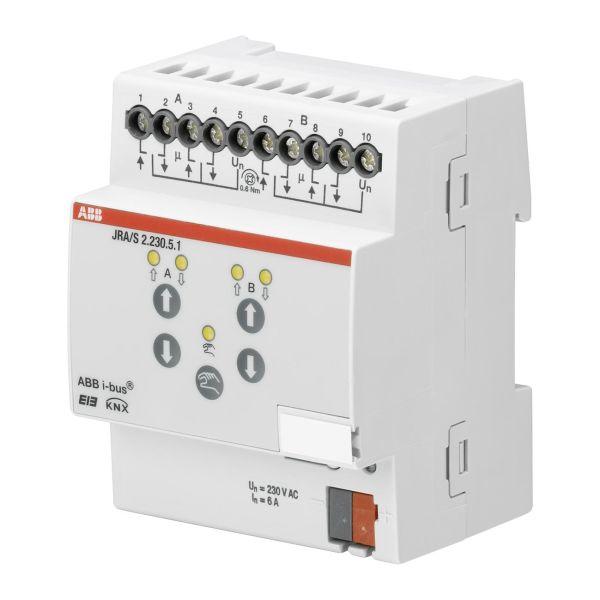 ABB 2CDG110124R0011 Verhomoottoriohjain 230 V, ajan tunnistus Verholähtöjen enimmäismäärä: 2
