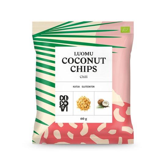Luomu Kookoslastut Chili 60g - 65% alennus