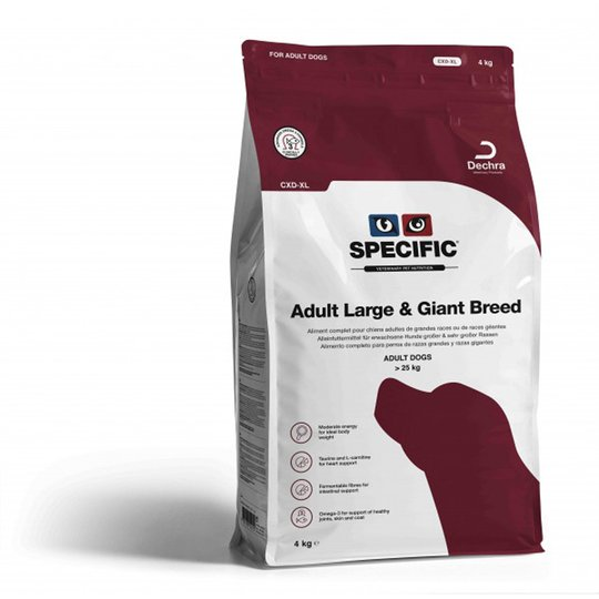 Specific™ Adult Large & Giant Breed CXD-XL (4 kg)