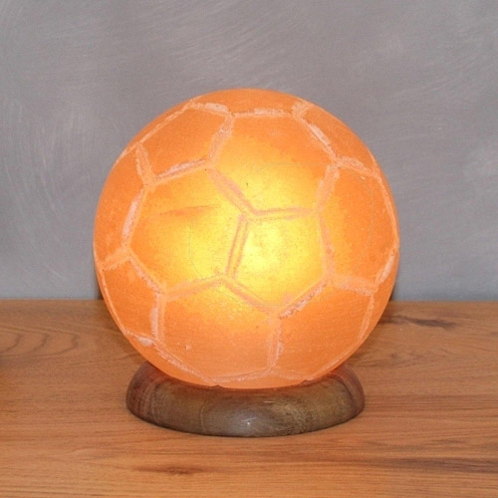 Dekorativ bordlampe Fußball