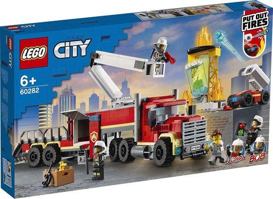 LEGO City Fire 60282 Brannvesenets Kommandoenhet