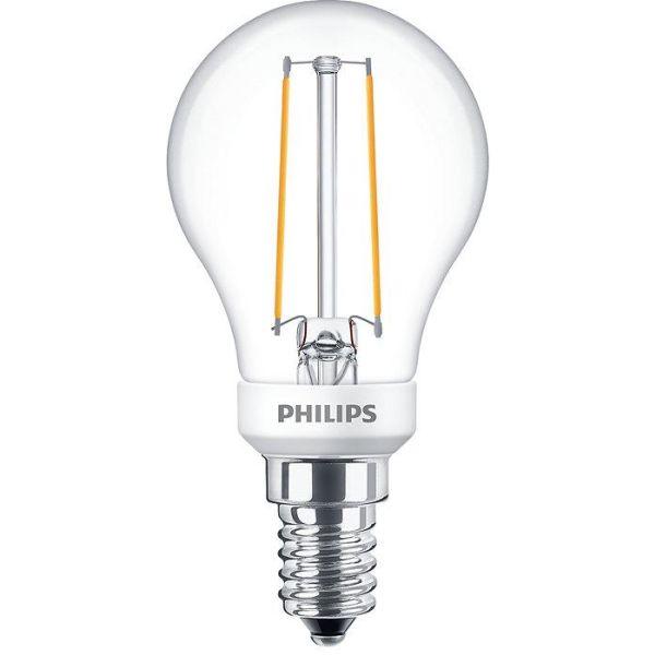 Philips Classic LED Filament LED-lampe 2,7 W, kuleform