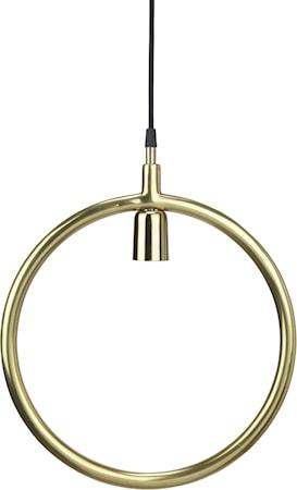Circle Taklampa Guld 35cm