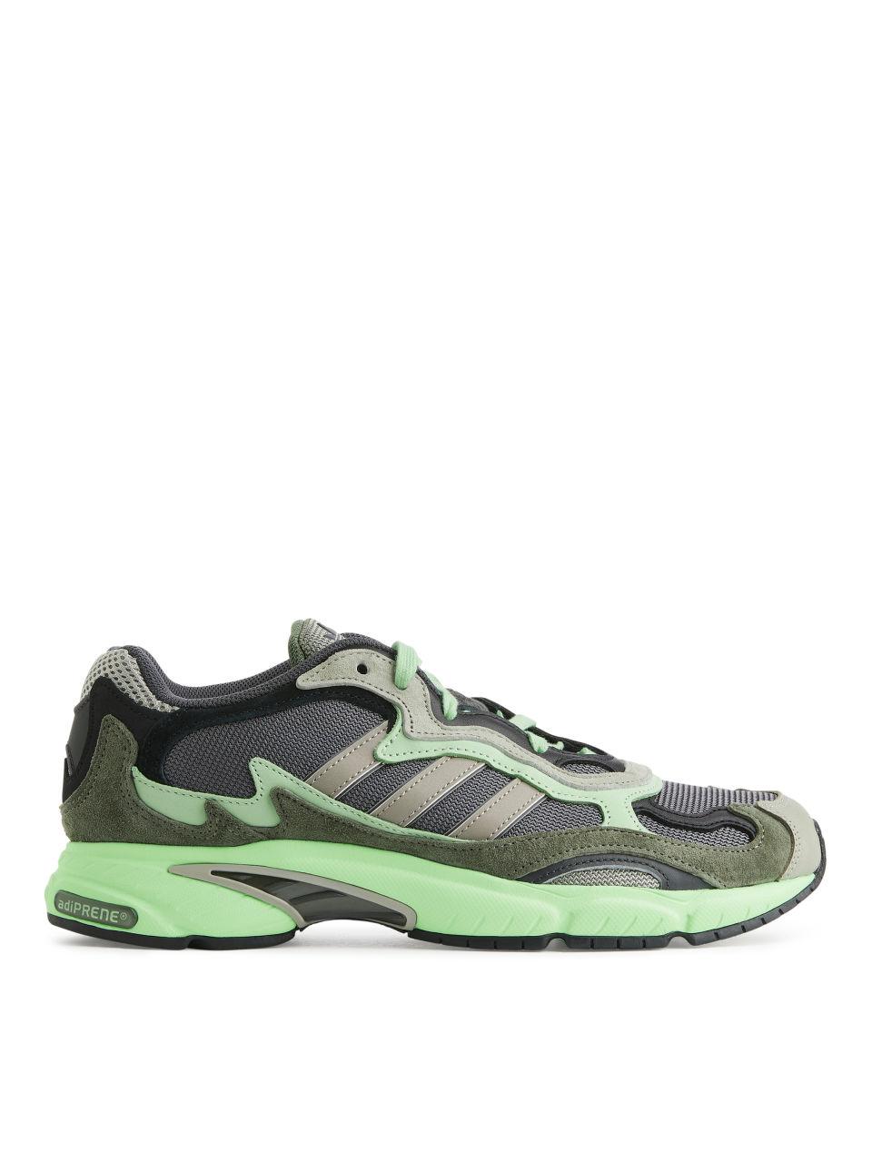 adidas Temper Run Trainers - Green