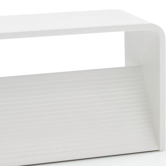 Lucande Sessa -LED-seinävalaisin 37 cm valkoinen