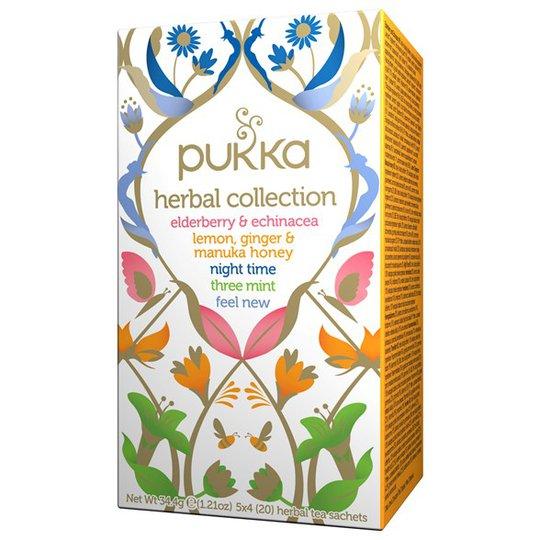 Pukka Herbs Örtte Herbal Collection, 20 påsar