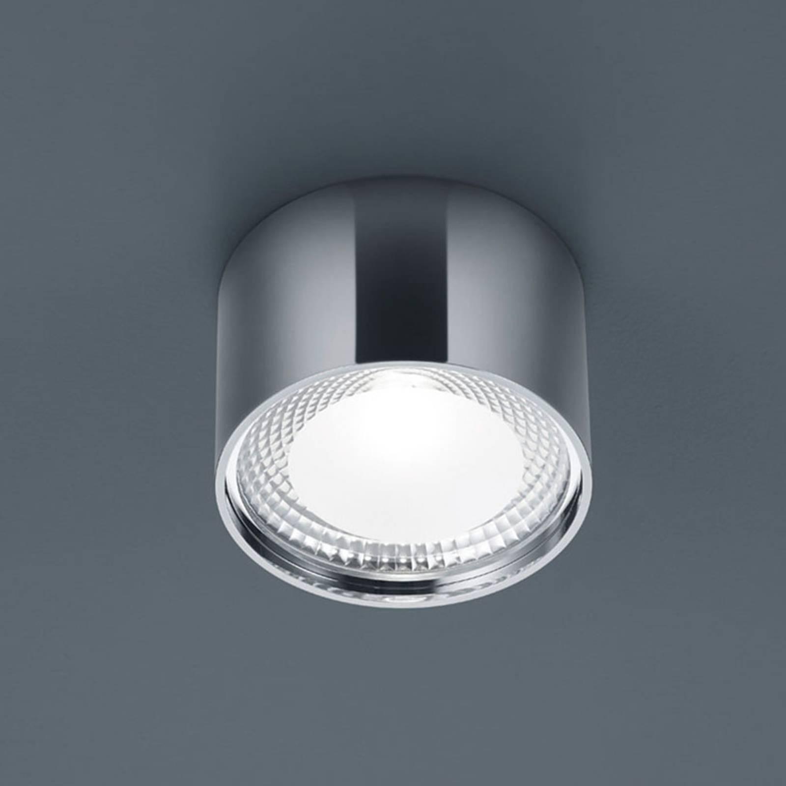 Helestra Kari -LED-kattovalaisin, pyöreä, kromi