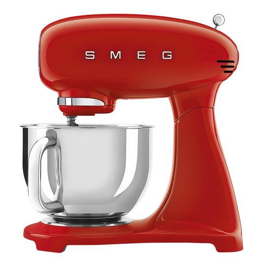 Smeg - 50's Style Köksmaskin SMF03 4,8 L Röd