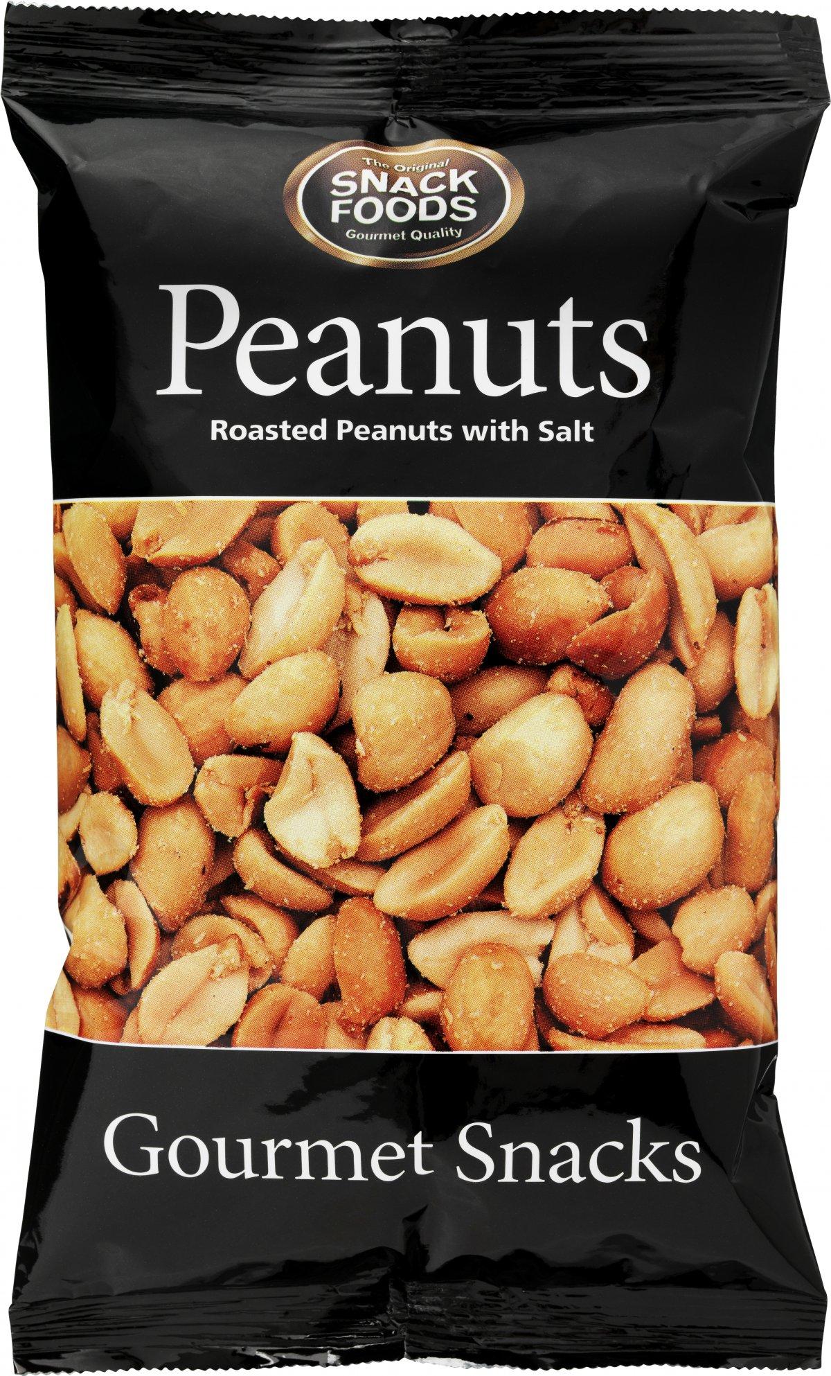 Snackfoods Rostade Jordnötter 100g
