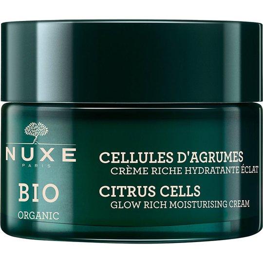 Bio Organic Rich Glow Moisturising Cream, 50 ml Nuxe Kasvovoiteet