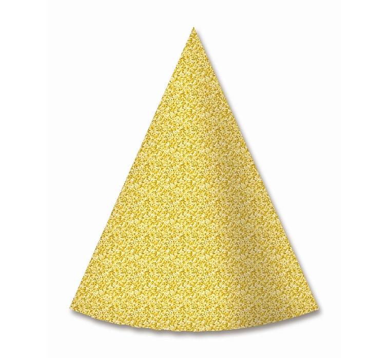 Partyhatt guldglitter