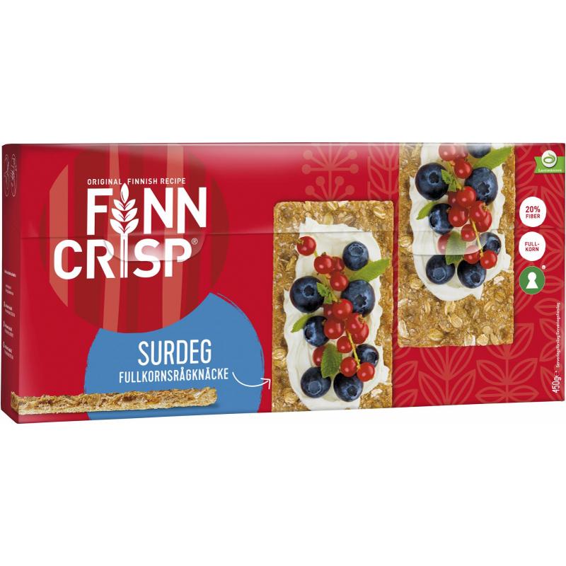 Knäckebröd Fullkornsråg & Surdeg 450g - 64% rabatt