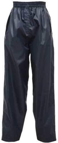 Regatta Kid's Tormbreak Waterproof Trouser Various Colours L_W808 - Navy 5 to 6 Years