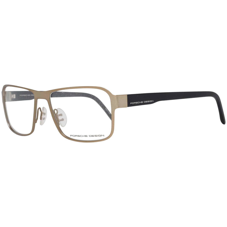 Porsche Design Men's Optical Frames Eyewear Gold P8290 56D