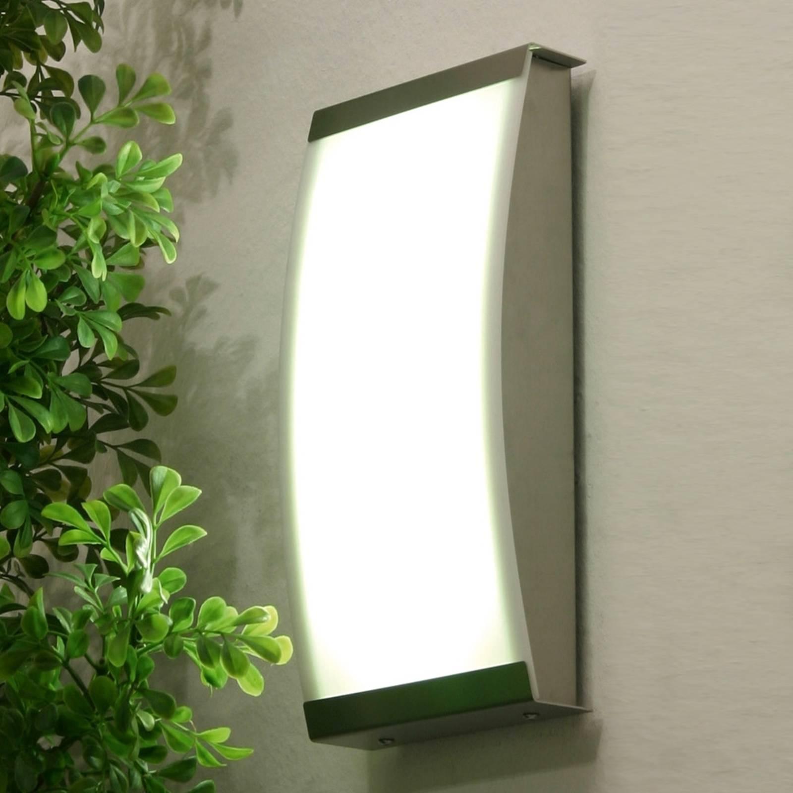 Trendikäs LED-ulkoseinävalaisin LISET, 4 000 K