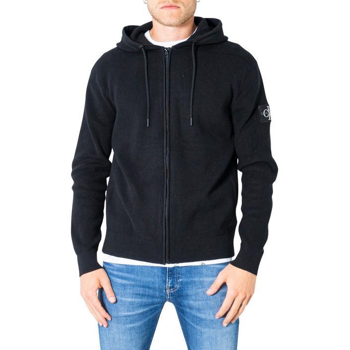 Calvin Klein Jeans Men's Cardigan Black 305660 - black S