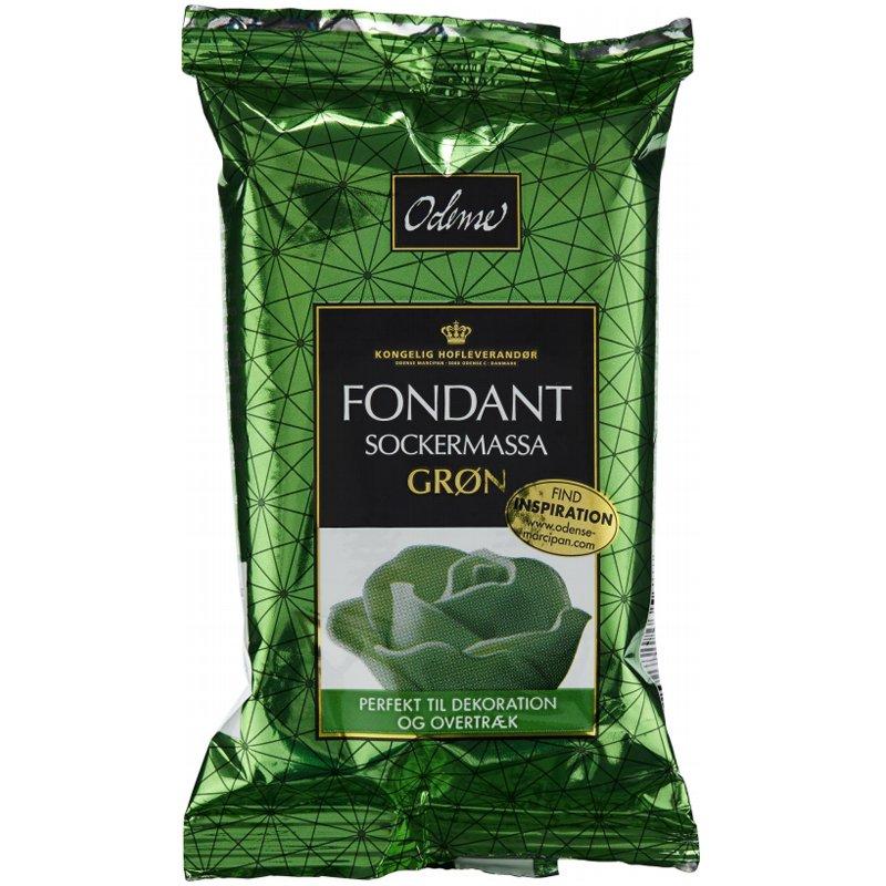 Sockermassa Grön - 50% rabatt