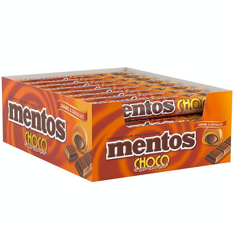 Mentos Choco & Karamell 24-pack - 23% rabatt