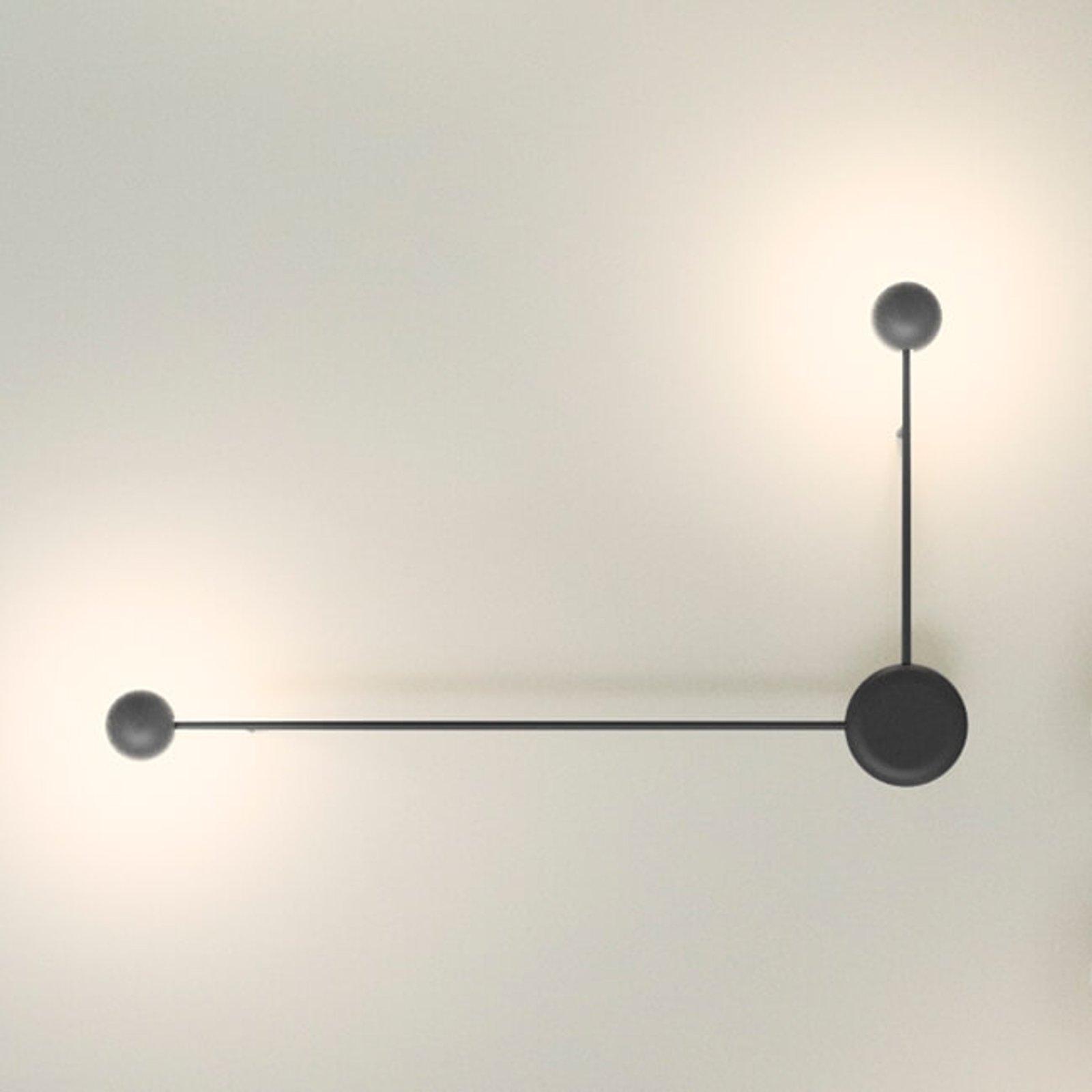 Pin LED vegglampe med 2 lyskilder
