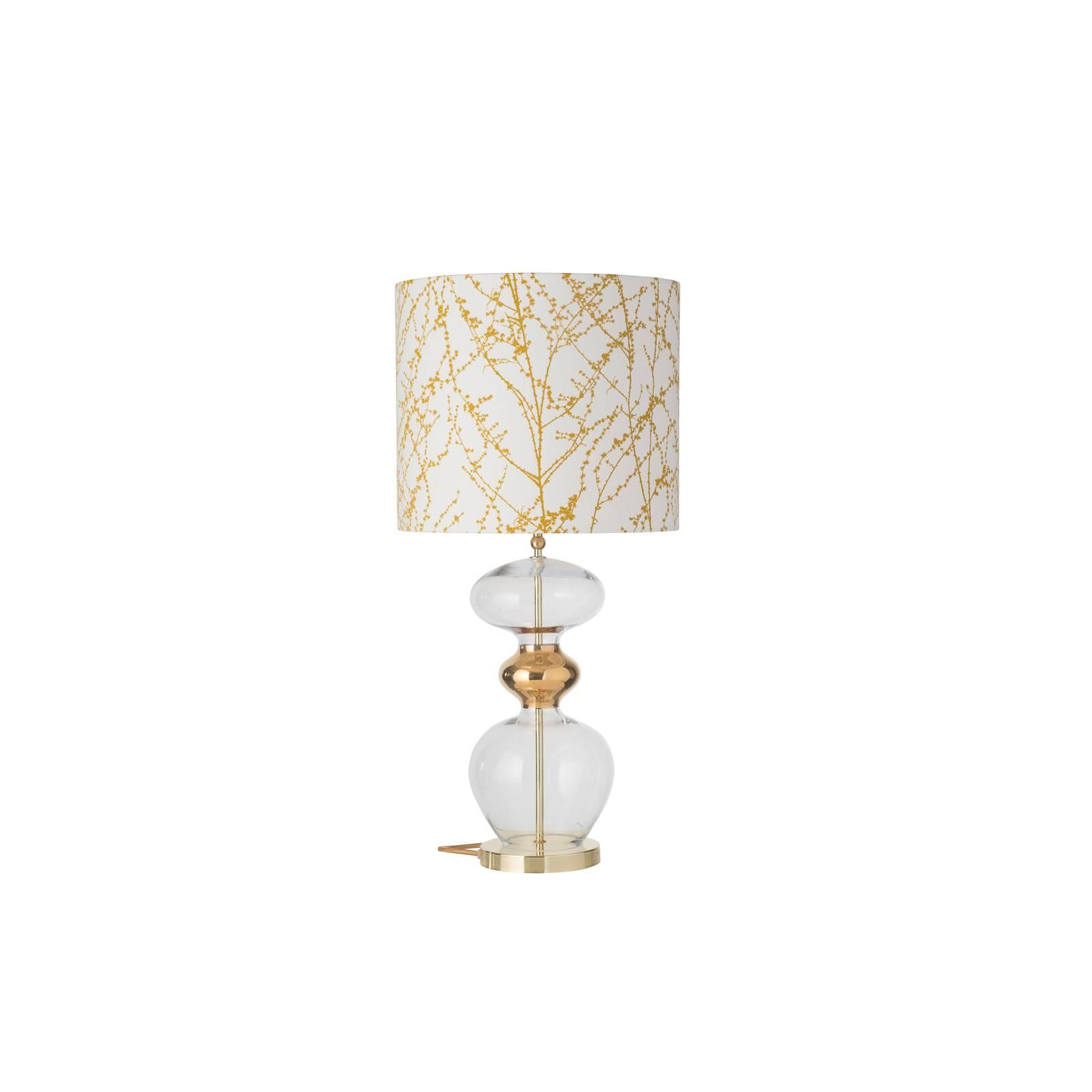 EBB & FLOW Futura -pöytälamppu Branches ochre gold