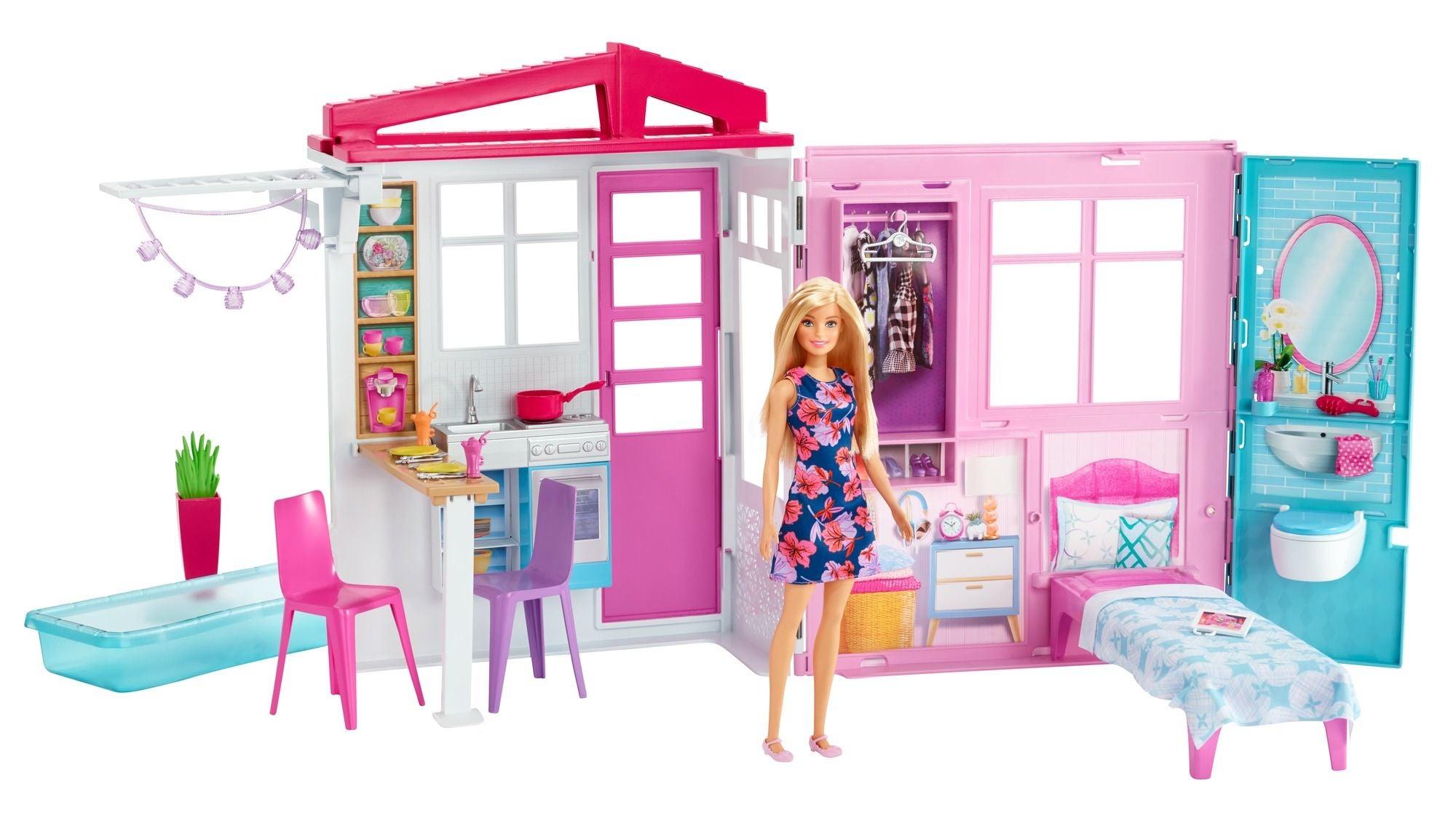 Barbie Nukke ja Talo