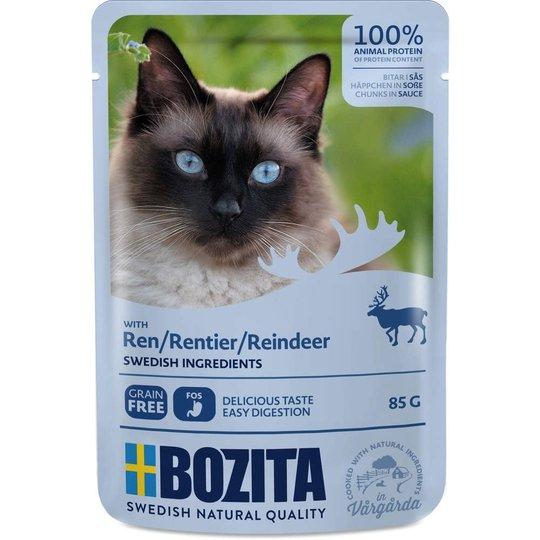 Bozita Feline Bitar i Sås med Ren