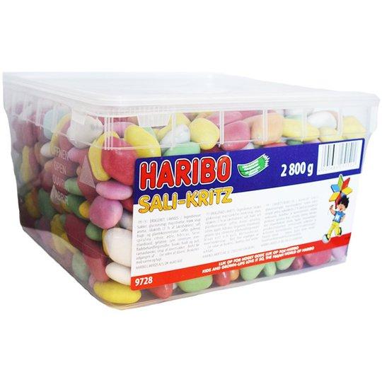 """Laatikollinen makeisia, """"Sali-Kritz"""" 2,8 kg - 64% alennus"""
