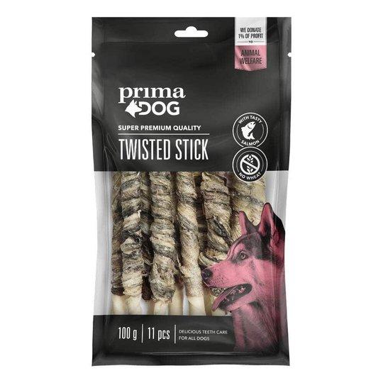 PrimaDog Twisted Stick Salmon 11-pack