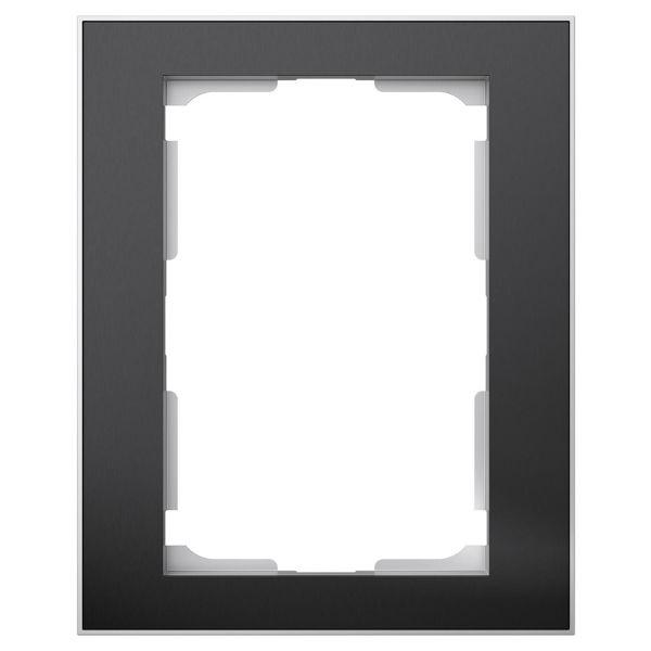 Elko EKO06291 Kombinasjonsramme svart/aluminium, 1½-roms 1 x ½ rom