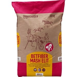 Hästfoder Granngården Betfiber Mash Elit, 20 kg