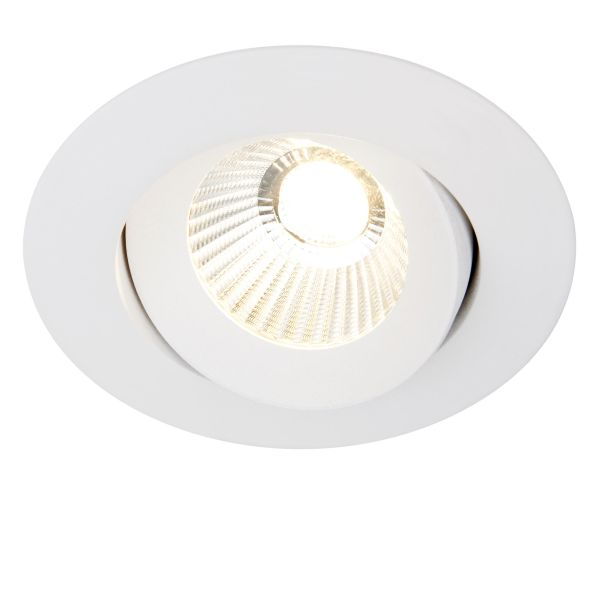 Hide-a-Lite Optic 360 ISO Downlight-valaisin 7.5W, valkoinen 2700K