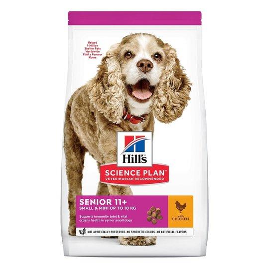 Hill's Science Plan Dog Senior 11 + Small & Mini Chicken 1,5 kg