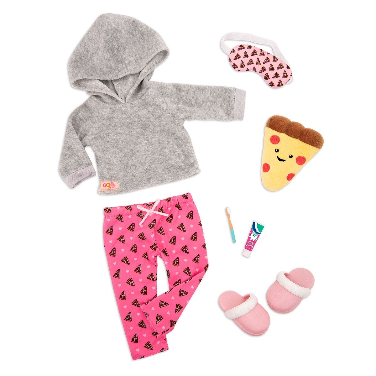 Our Generation - Deluxe outfit - Pizza Pyjamas (730453)