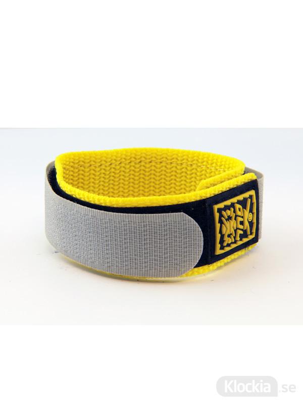 GUL Armband Velcro Std Uni Black Yellow 18mm - 20mm 439518