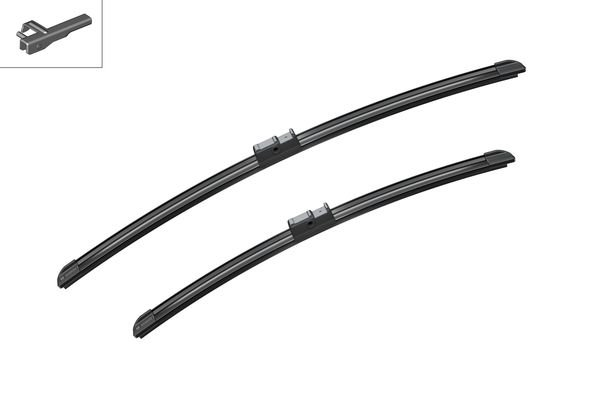 Flatbladesats A931S 550/450