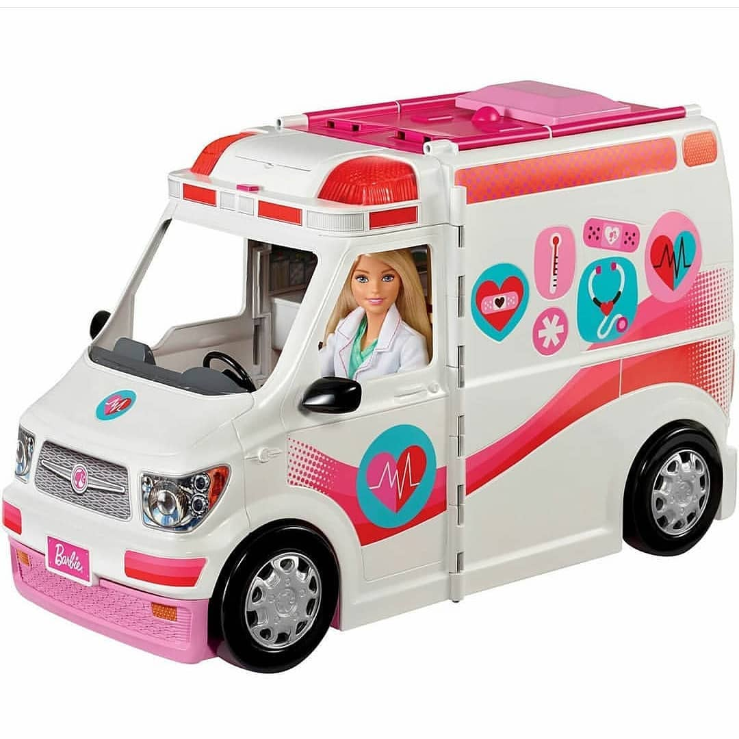 Barbie - Medical Vehicle (FRM19)