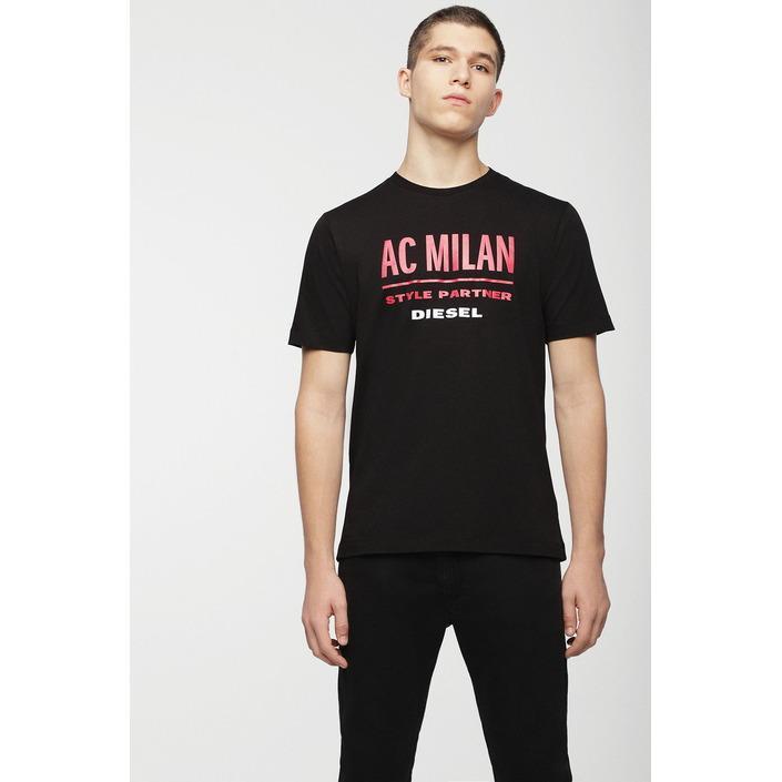 Diesel Men's T-Shirt Black 270794 - black S