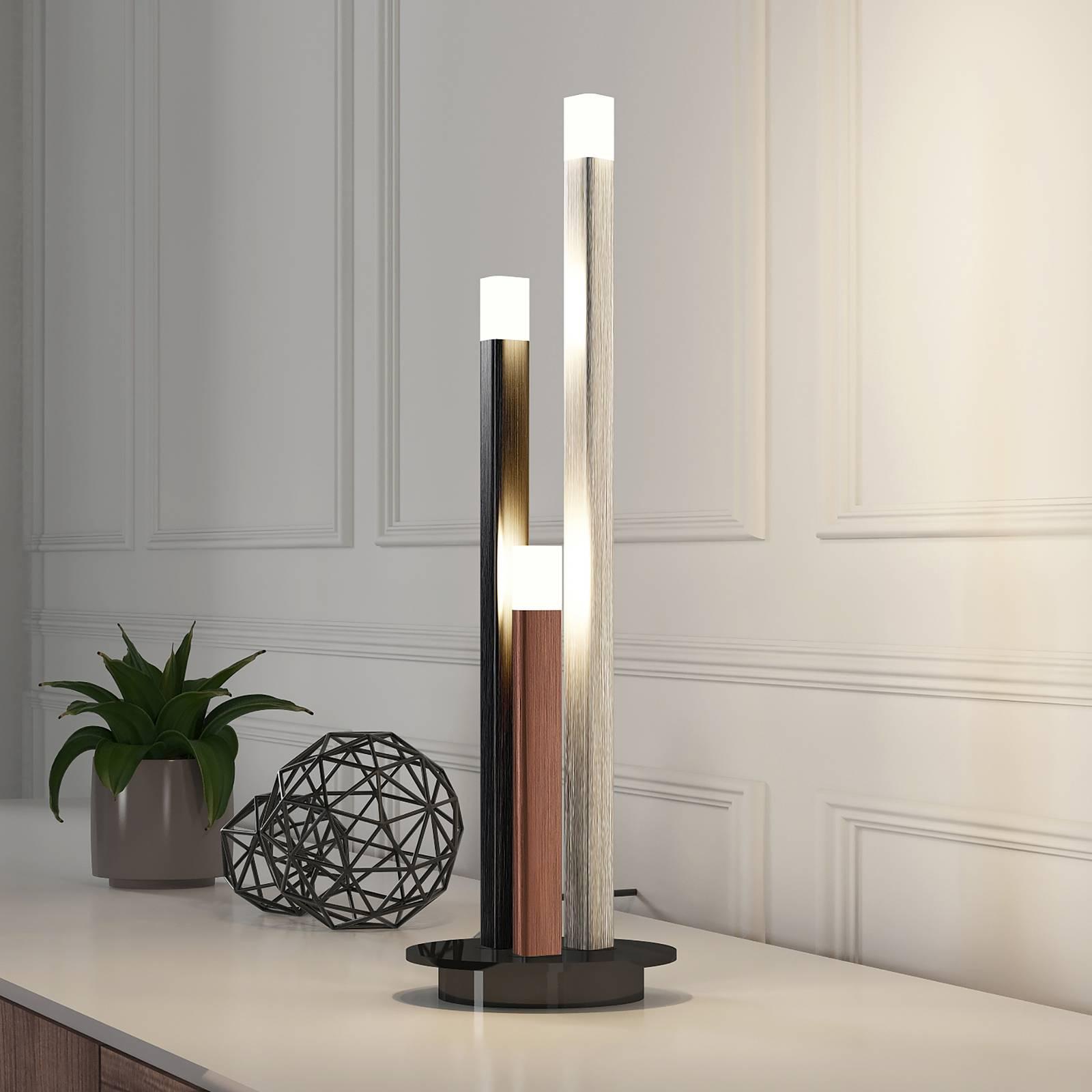 Lucande Stoika -LED-pöytälamppu