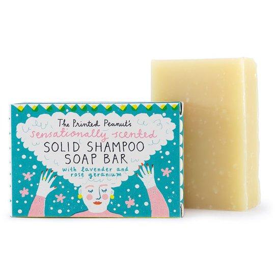 The Printed Peanut Natural Handmade Solid Shampoo Bar, 95 g