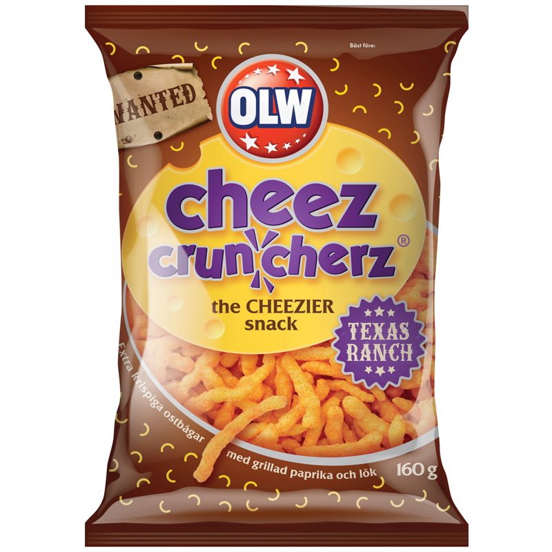 Cheez Cruncherz Texas Ranch - 26% rabatt