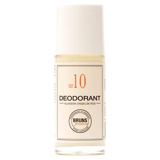 BRUNS Products Deodorant nr 10 - Klassisk Engelsk Ros, 60 ml