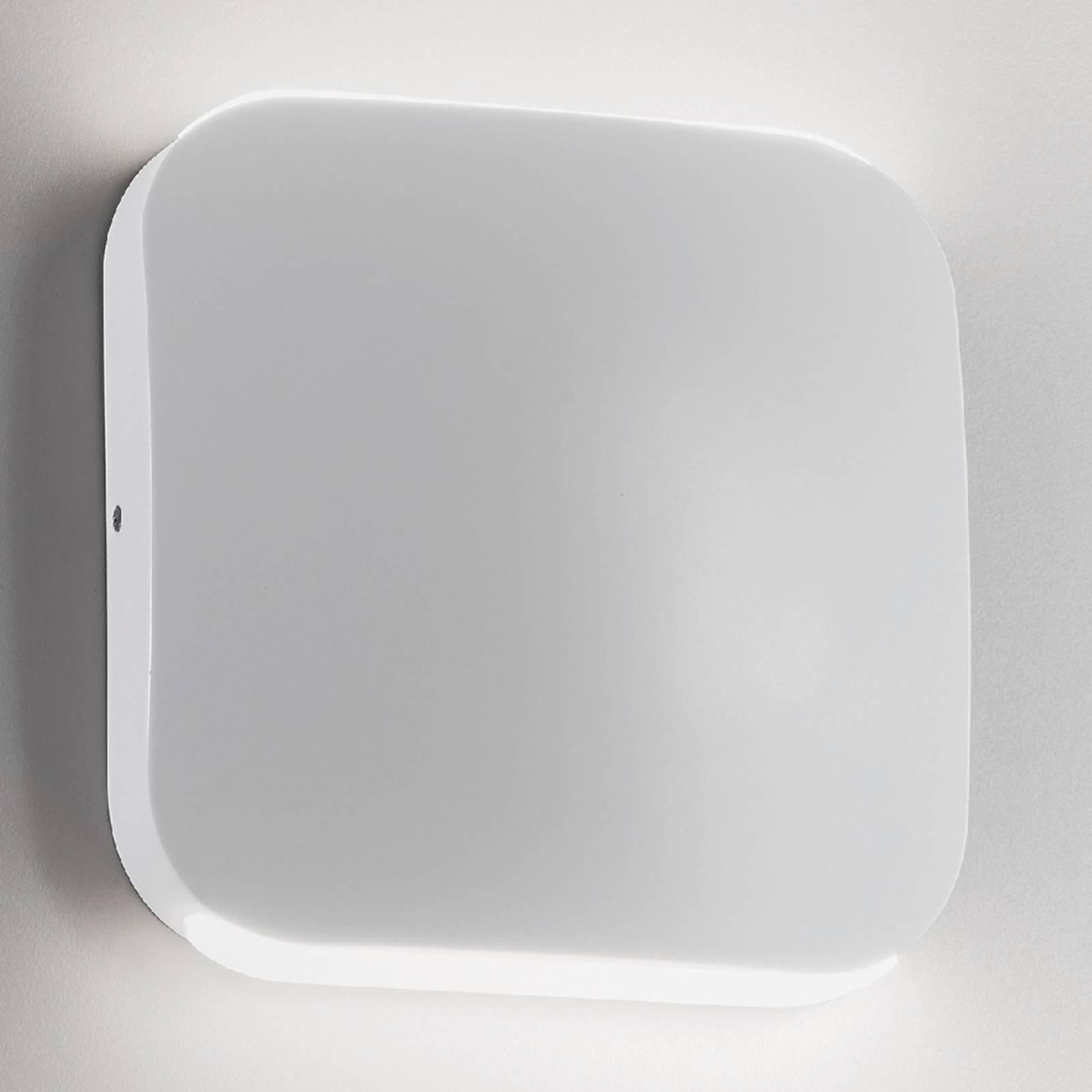 Utendørs LED-vegglampe Astuccio, hvit