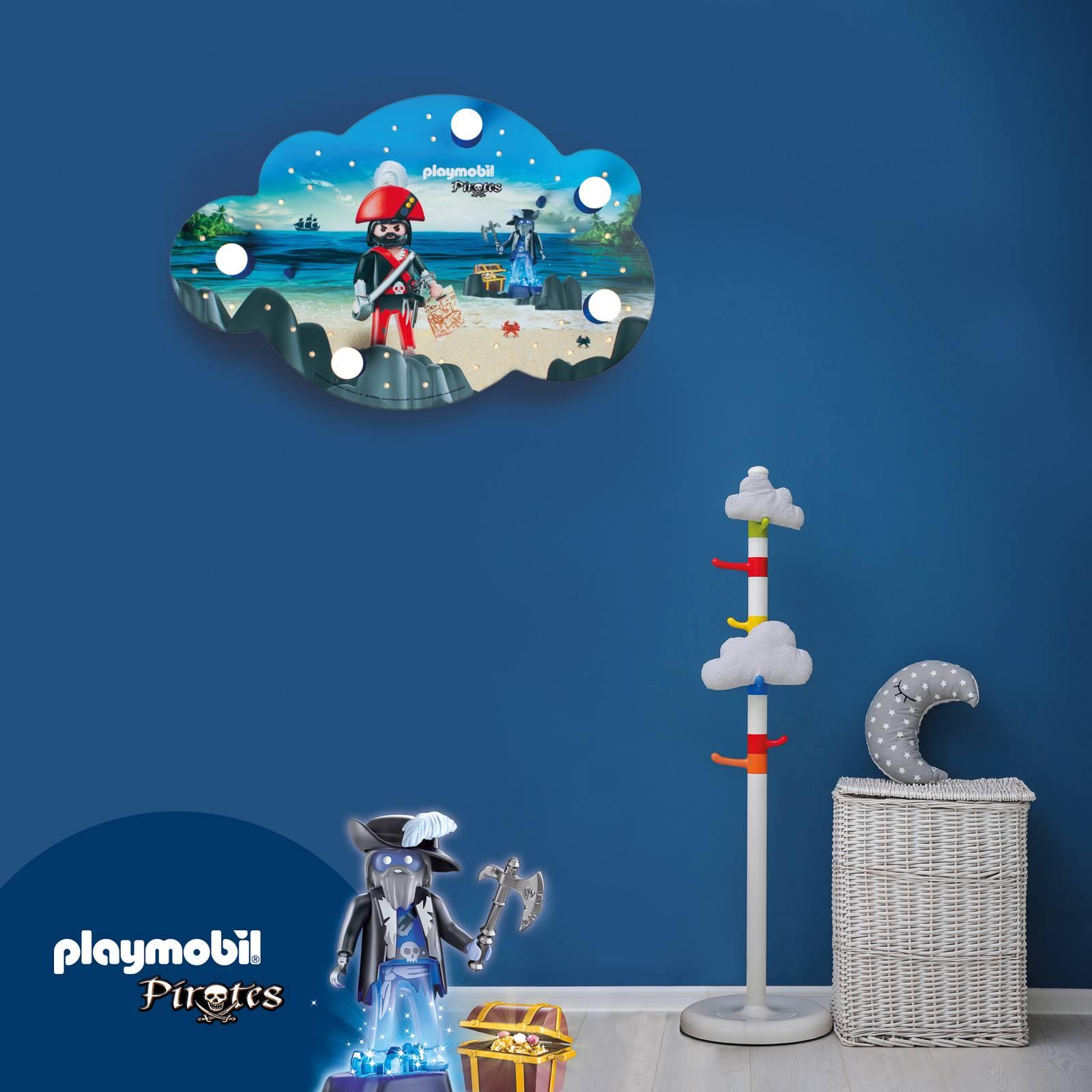 Seinävalaisin - kuvioitu pilvi, PLAYMOBIL Pirates