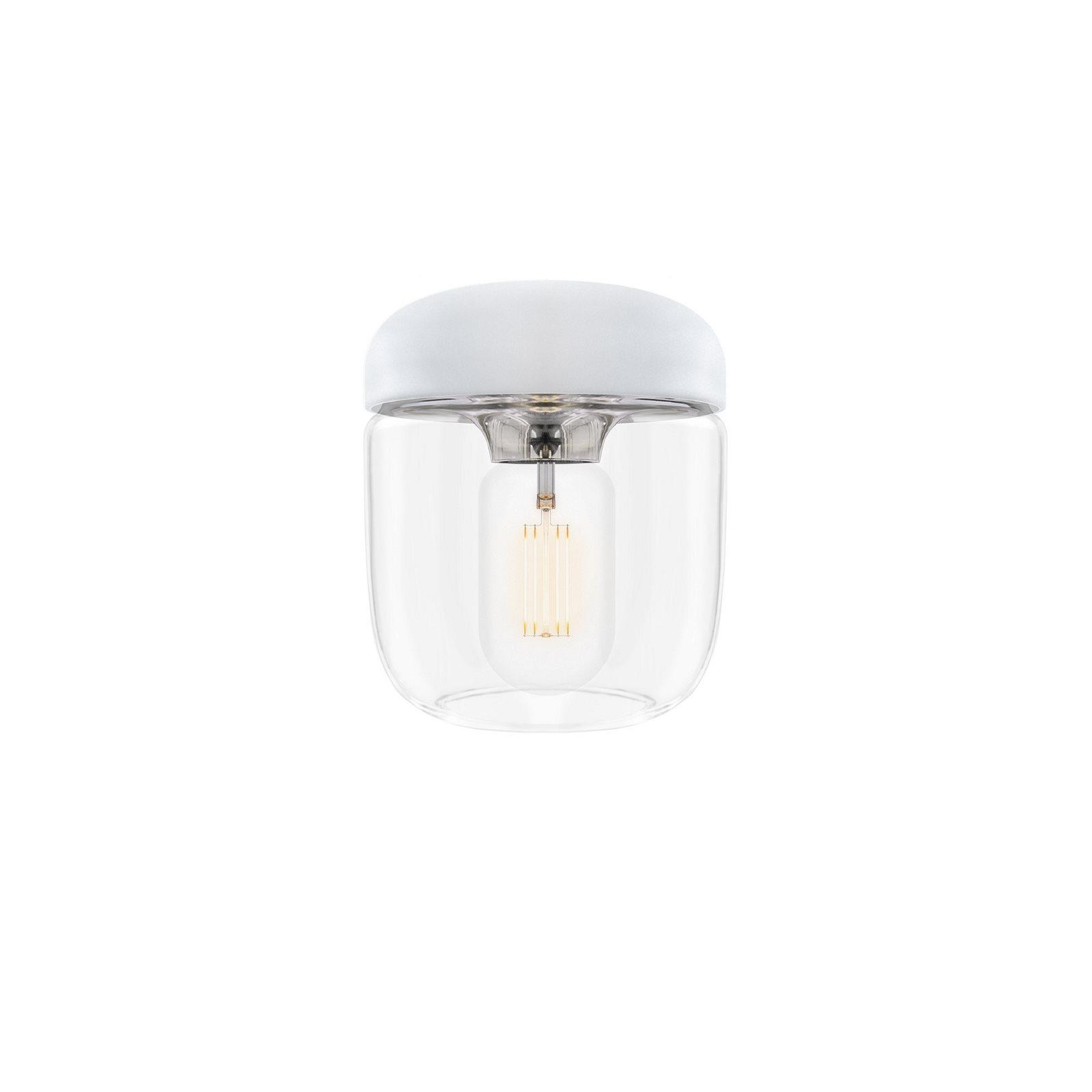 Acorn lampa white steel, Vita
