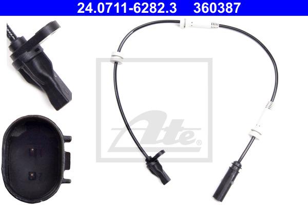 ABS-anturi ATE 24.0711-6282.3